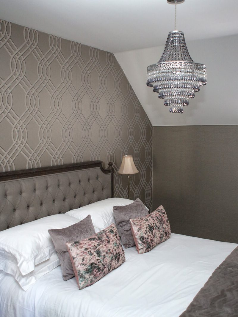 Botique bedroom design from hot house interiors
